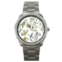 Australian Kookaburra Bird Pattern Sport Metal Watch by BangZart