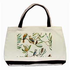 Australian Kookaburra Bird Pattern Basic Tote Bag