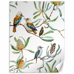 Australian Kookaburra Bird Pattern Canvas 12  X 16