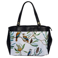 Australian Kookaburra Bird Pattern Office Handbags by BangZart