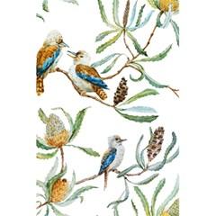 Australian Kookaburra Bird Pattern 5 5  X 8 5  Notebooks