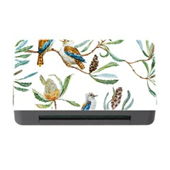 Australian Kookaburra Bird Pattern Memory Card Reader With Cf by BangZart