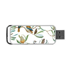 Australian Kookaburra Bird Pattern Portable Usb Flash (one Side)