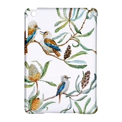 Australian Kookaburra Bird Pattern Apple Ipad Mini Hardshell Case (compatible With Smart Cover) by BangZart