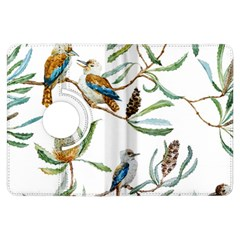 Australian Kookaburra Bird Pattern Kindle Fire Hdx Flip 360 Case by BangZart