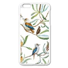 Australian Kookaburra Bird Pattern Apple Iphone 6 Plus/6s Plus Enamel White Case by BangZart