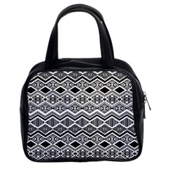 Aztec Design  Pattern Classic Handbags (2 Sides)