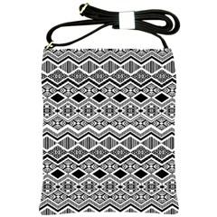 Aztec Design  Pattern Shoulder Sling Bags