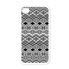 Aztec Design  Pattern Apple Iphone 4 Case (white) by BangZart