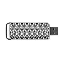 Aztec Design  Pattern Portable Usb Flash (two Sides)