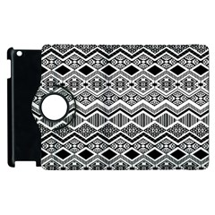Aztec Design  Pattern Apple Ipad 3/4 Flip 360 Case by BangZart