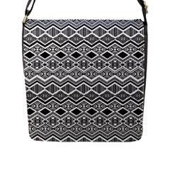 Aztec Design  Pattern Flap Messenger Bag (l)  by BangZart