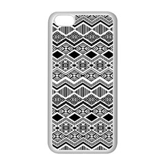Aztec Design  Pattern Apple Iphone 5c Seamless Case (white)