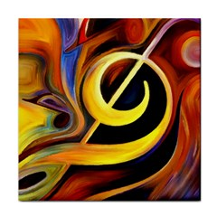 Art Oil Picture Music Nota Tile Coasters