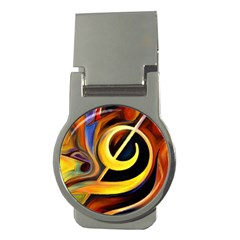 Art Oil Picture Music Nota Money Clips (round)  by BangZart