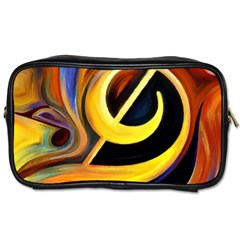 Art Oil Picture Music Nota Toiletries Bags by BangZart