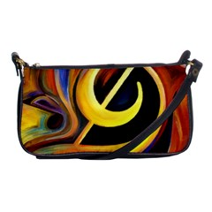 Art Oil Picture Music Nota Shoulder Clutch Bags by BangZart
