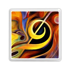Art Oil Picture Music Nota Memory Card Reader (square)  by BangZart