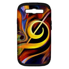 Art Oil Picture Music Nota Samsung Galaxy S Iii Hardshell Case (pc+silicone) by BangZart