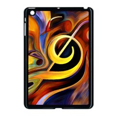 Art Oil Picture Music Nota Apple Ipad Mini Case (black) by BangZart