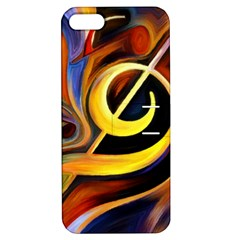 Art Oil Picture Music Nota Apple Iphone 5 Hardshell Case With Stand by BangZart