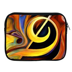 Art Oil Picture Music Nota Apple Ipad 2/3/4 Zipper Cases by BangZart