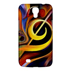 Art Oil Picture Music Nota Samsung Galaxy Mega 6 3  I9200 Hardshell Case by BangZart