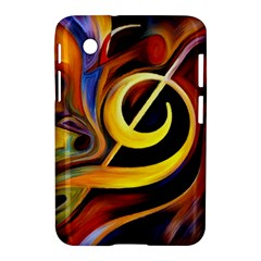 Art Oil Picture Music Nota Samsung Galaxy Tab 2 (7 ) P3100 Hardshell Case  by BangZart
