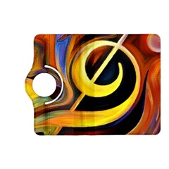 Art Oil Picture Music Nota Kindle Fire Hd (2013) Flip 360 Case by BangZart