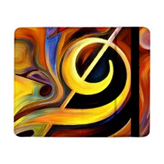Art Oil Picture Music Nota Samsung Galaxy Tab Pro 8 4  Flip Case