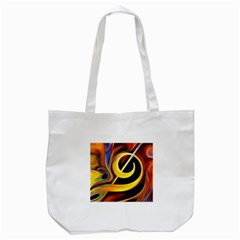 Art Oil Picture Music Nota Tote Bag (white) by BangZart