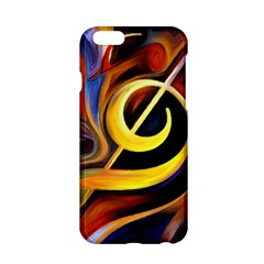 Art Oil Picture Music Nota Apple Iphone 6/6s Hardshell Case by BangZart
