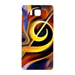 Art Oil Picture Music Nota Samsung Galaxy Alpha Hardshell Back Case by BangZart