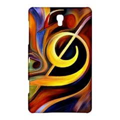 Art Oil Picture Music Nota Samsung Galaxy Tab S (8 4 ) Hardshell Case  by BangZart