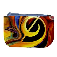 Art Oil Picture Music Nota Large Coin Purse by BangZart