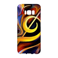 Art Oil Picture Music Nota Samsung Galaxy S8 Hardshell Case