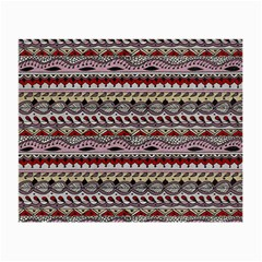Aztec Pattern Art Small Glasses Cloth