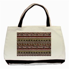 Aztec Pattern Art Basic Tote Bag by BangZart