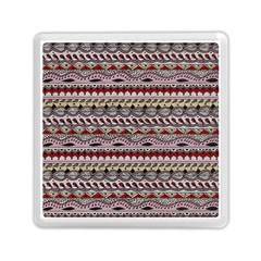 Aztec Pattern Art Memory Card Reader (square)