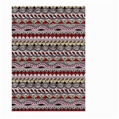 Aztec Pattern Art Large Garden Flag (two Sides)