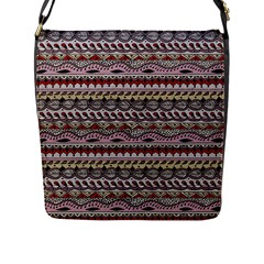 Aztec Pattern Art Flap Messenger Bag (l)  by BangZart