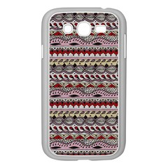 Aztec Pattern Art Samsung Galaxy Grand Duos I9082 Case (white)
