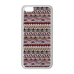 Aztec Pattern Art Apple Iphone 5c Seamless Case (white)