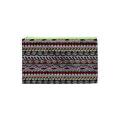 Aztec Pattern Art Cosmetic Bag (xs)