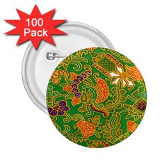 Art Batik The Traditional Fabric 2 25  Buttons (100 Pack)