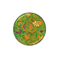 Art Batik The Traditional Fabric Hat Clip Ball Marker (4 Pack)