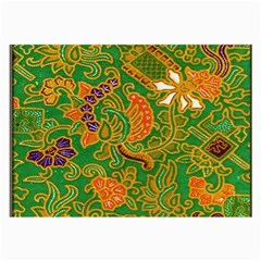 Art Batik The Traditional Fabric Large Glasses Cloth (2 Side) by BangZart