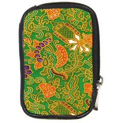 Art Batik The Traditional Fabric Compact Camera Cases by BangZart