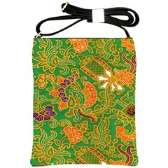 Art Batik The Traditional Fabric Shoulder Sling Bags by BangZart