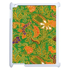 Art Batik The Traditional Fabric Apple Ipad 2 Case (white) by BangZart